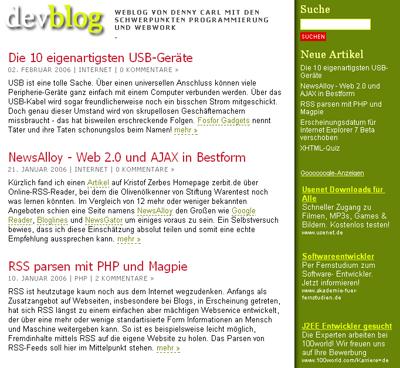 Devblog.de
