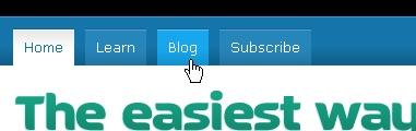 CSS Navigation Showcase: Blinksale.com [1]