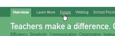 CSS Navigation Showcase: Chalksite.com