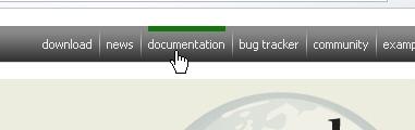 CSS Navigation Showcase: Dojotoolkit.org