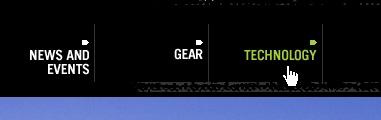 CSS Navigation Showcase: Elansnowboards.com