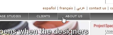 CSS Navigation Showcase: Forumone.com