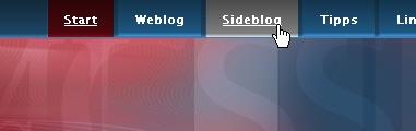 CSS Navigation Showcase: pixelgraphix.de