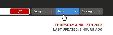 CSS Navigation Showcase: uxmag.com