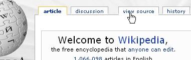 CSS Navigation Showcase: Wikipedia